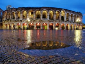 Weekend romantico Veneto a Verona