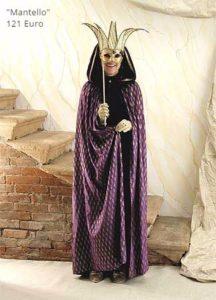 Costumi della Commedia dell'Arte, noleggio a venezia