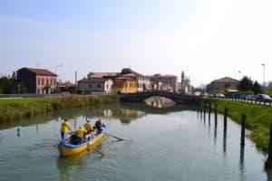 Voga in caorlina a Battaglia Terme