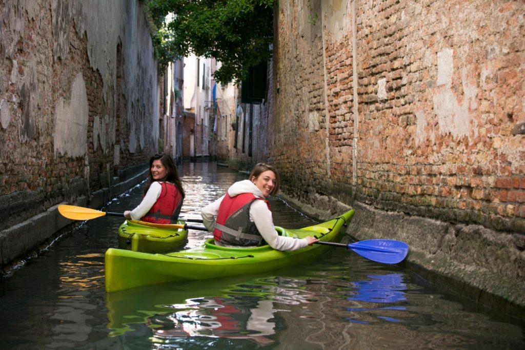 Kayak a Venezia: una nuova prospettiva!