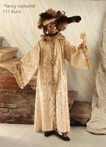 Noleggio di costumi veneziani a Venezia