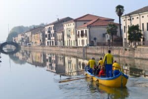 Escursione in barca al Castello del Catajo
