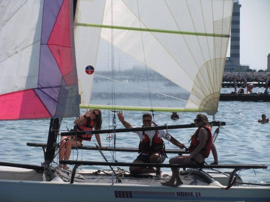Escursioni a Vela a Jesolo:  adrenalina in catamarano Hobie Cat 21!