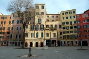 Venezia. Luoghi di interesse. Ghetto