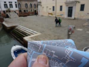 orienteering in giro per venezia