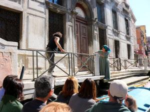 Tour Venezia. spettacolo teatrale itinerante