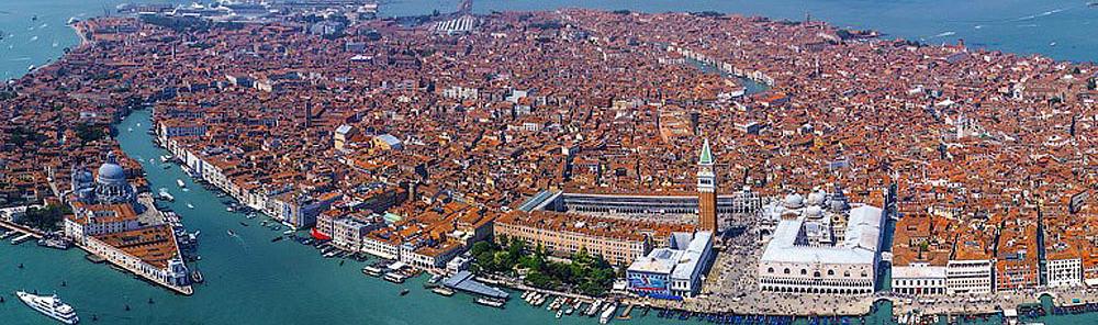 Venezia. Vista dall`alto