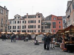 Блошиный рынок в Венеции