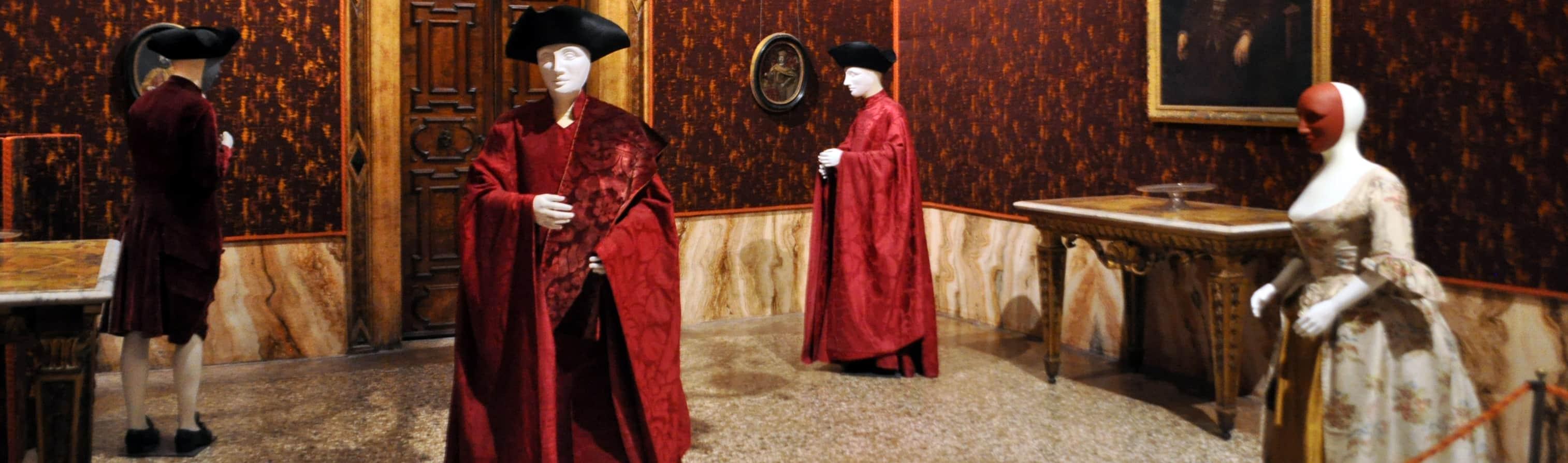 Venezia. Museo di Palazzo Mocenigo del Costume e del Profumo