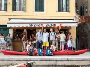 Canoa a Venezia