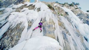 arrampicata sul ghiaccio