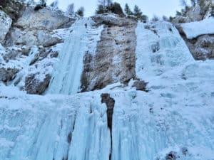 Le più belle gite invernali- Cascate di ghiaccio al Serrai di Sottoguda