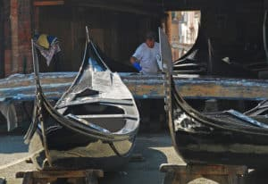 artisanat gondole Venise