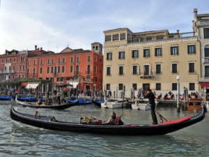 Giro in gondola. Venezia