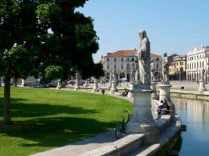 Padova. Lo spettacolare Prato della Valle