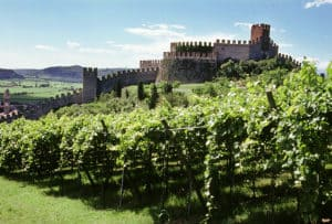 Замок Соаве-окрестности Вероны