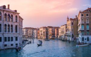 Veduta sul Canal Grande di Venezia