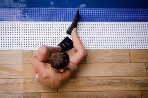 bambini piscina - weekend relax