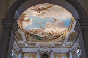 Affresco soffitto di Villa Pisani
