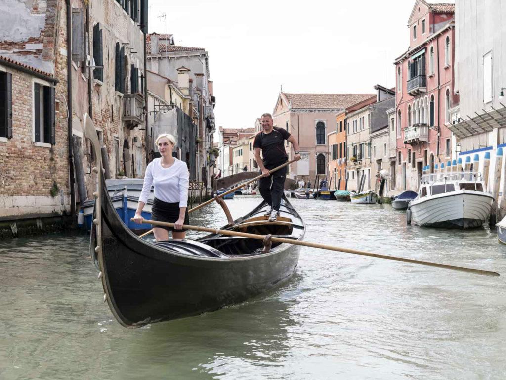 Corso voga Venezia. Come gondoliere