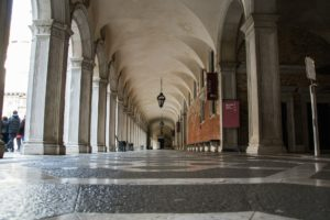 Porticato palazzo Ducale