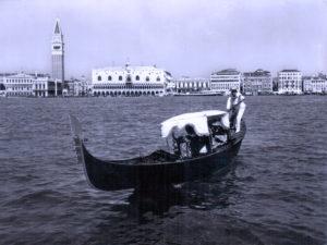 Gondoliere. Venezia anni 50