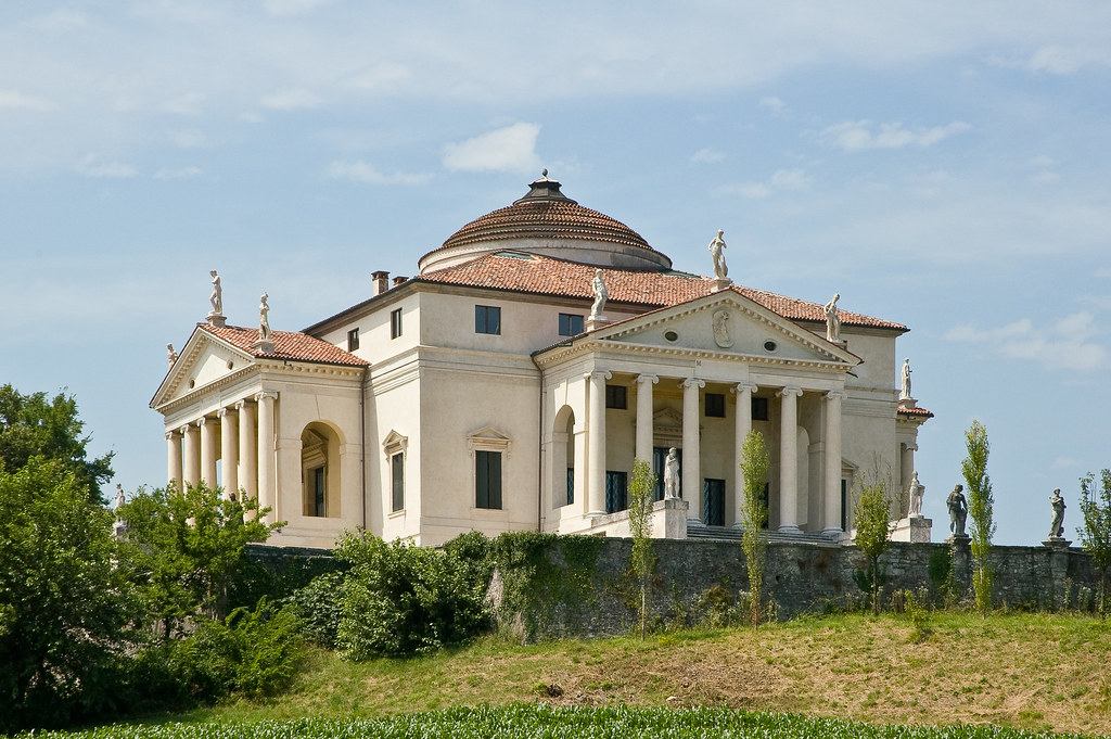 Paesaggio con villa veneta