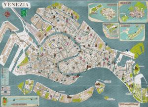 Cartina Turistica Venezia.Venezia In Un Giorno A Piedi Dalla Stazione Santa Lucia