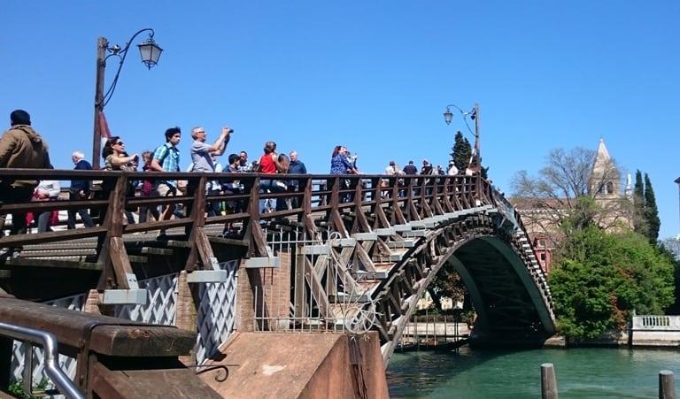 Ponte Accademia - Canal Grande - San Vidal