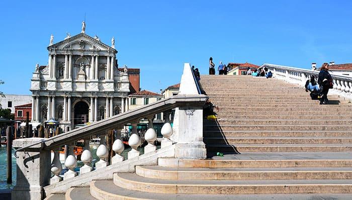 Venezia - Ponte degli Scalzi - Canal Grande