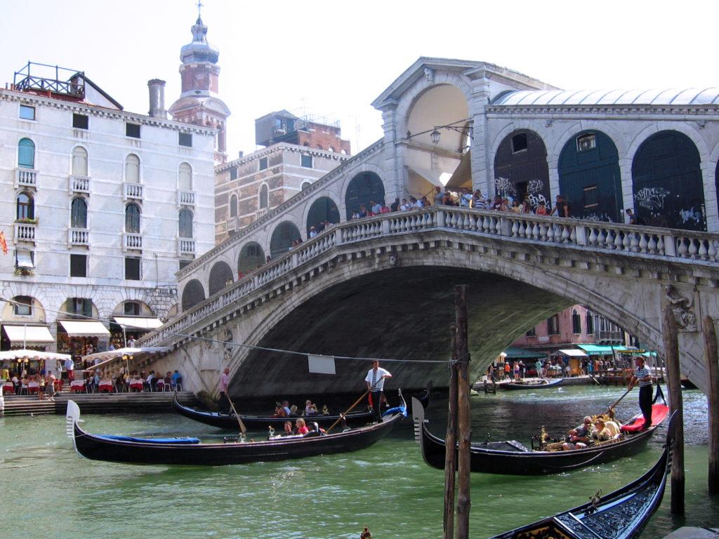 Venezia in un giorno. Giro in gondola