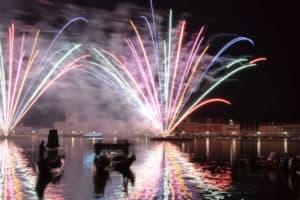 Venedig Veranstaltungen: Festa del Redentore mit Feuerwerken