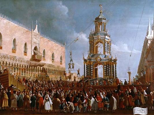 Venice Carnival History - St mark square