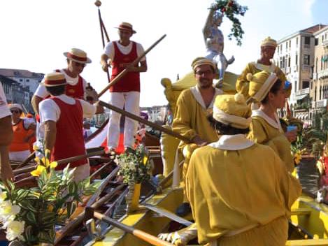 Regata Storica Venezia. Festa ai remi