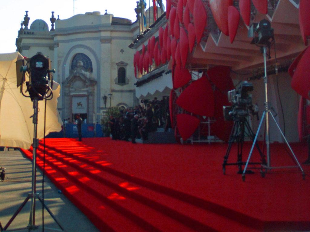 Mostra del cinema di Venezia. Tappeto rosso