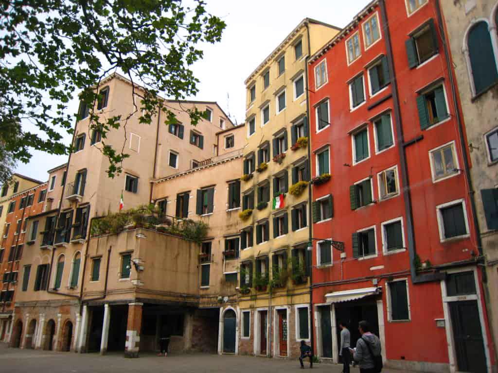 Campo Ghetti Nuovo. Venezia
