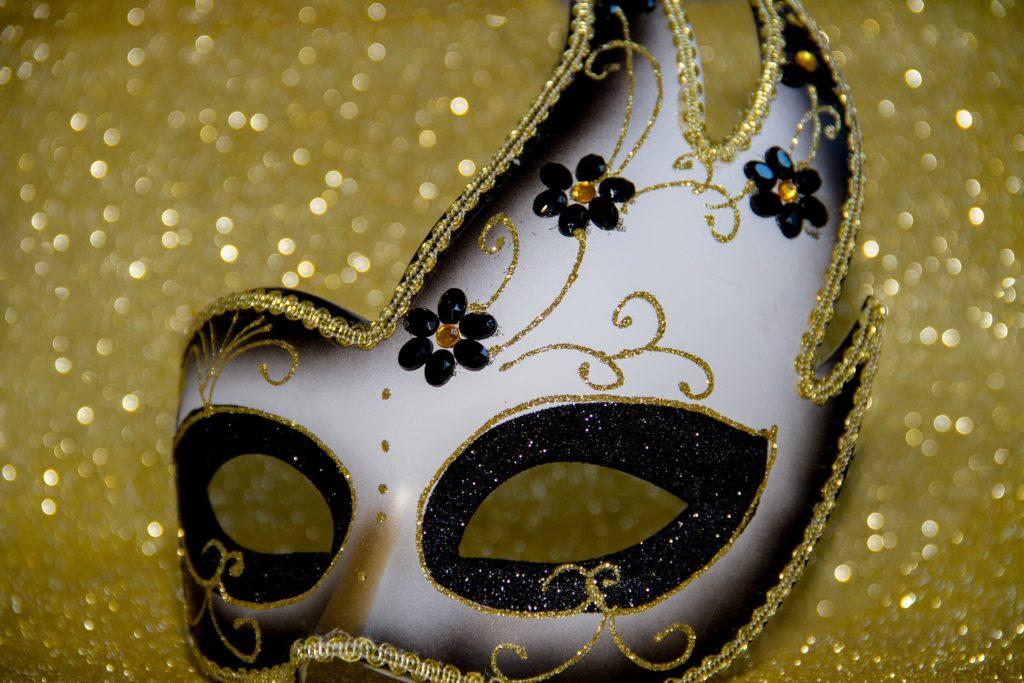 Venise avec des enfants - masque carnaval