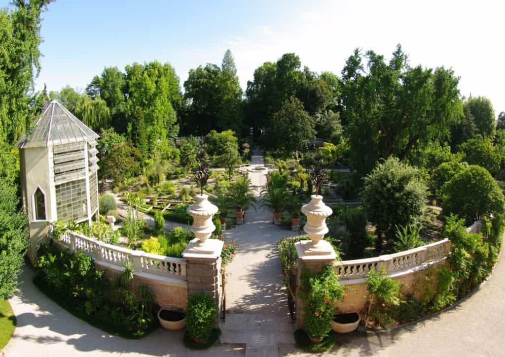 ingresso dell'orto botanico di padova