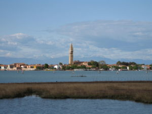 Isola di San Francesco, veduta della Laguna di Venezia