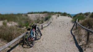 itinerario a pellestrina in bici