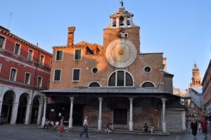 Chiese Venezia. San Giacometo di Rialto