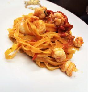 menu di pesce di Capodanno Venezia