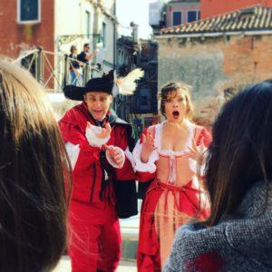Teatro itinerante: entra nella Storia di Venezia!
