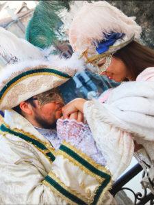 Abiti Carnevale veneziano. Photoshoot