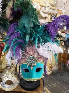 Carnevale di Venezia. Vestiti maschere in atelier
