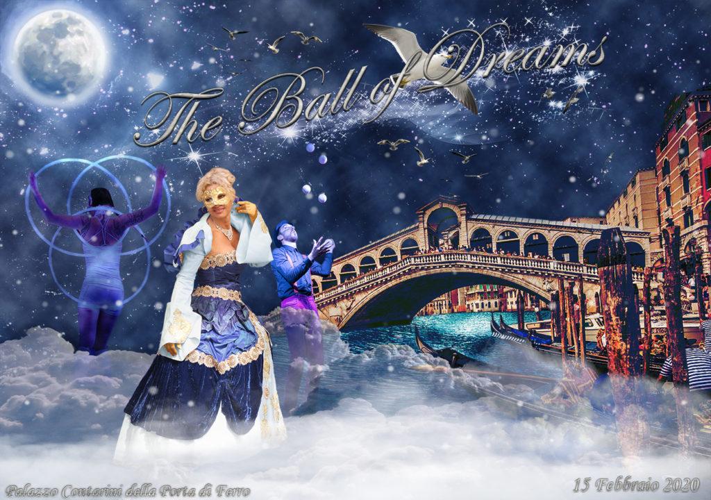costume veneziano per il ballo dei sogni