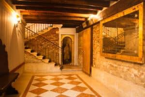 Laboratorio Battiloro a Venezia in casa di Tiziano
