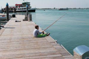 Corso di pesca a Cavallino per tutta la famiglia