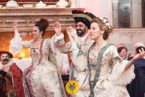 ballo in costume carnevale