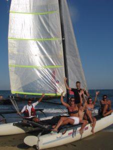 barca a vela venezia